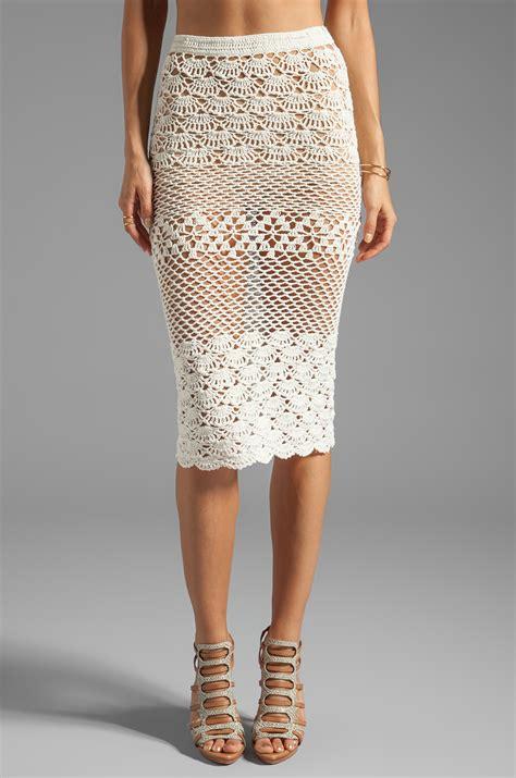 crochet skirt spell the collective coconut crochet skirt in