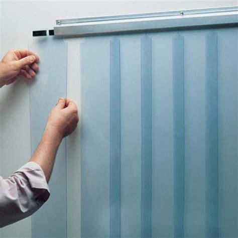 Walk In Cooler Curtains Kason 402la6065184 51 Quot X 84 Quot Curtain Set Etundra