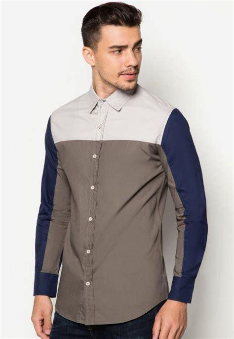 Kemeja Pria Kemeja Formal Kemeja Batik Slimfit Kemeja Pria Slimfit 10 16 kemeja slim fit yang paling banyak di cari pria baju