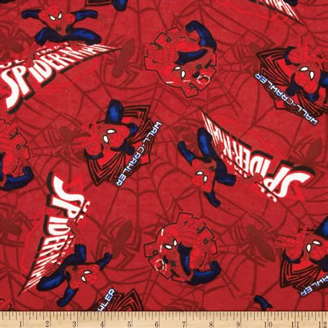 Spiderman Pattern Fabric | marvel comics spiderman flannel ultimate spiderman patch
