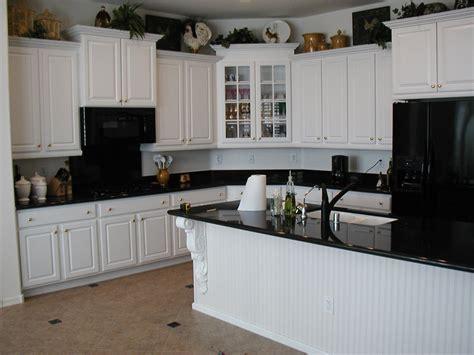 White Kitchen Cabinets Black Granite Kitchen White Kitchen Cabinets With Black Granite Countertops Granite Cabinets White Along