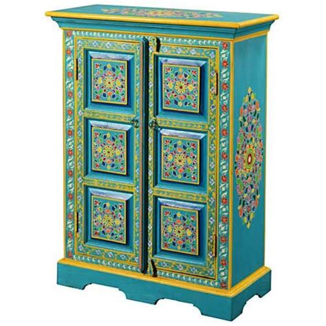 hand painted indian cabinets 1000 images about painted cabinets on pinterest vintage