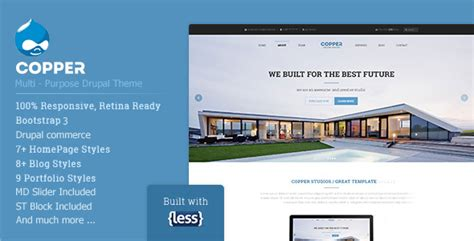 35 Responsive Drupal Commerce Themes And Templates Tutorial Zone Drupal Custom Theme Template