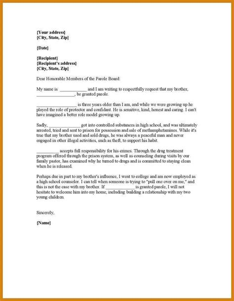 Recommendation Letter Judge Letter Of Character For Judge Letter Format Template