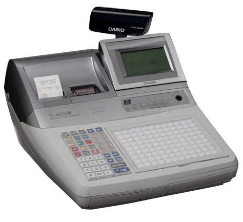 Mesin Kasir Register jual harga mesin kasir casio te 4000f