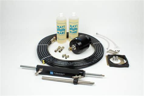 len installieren hydrauliklenkung gf150bet f mercruiser z antrieb zum