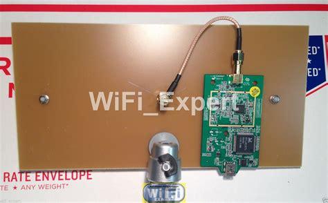 wifi antenna machga double biquad wireless booster long range   internet rf coaxial