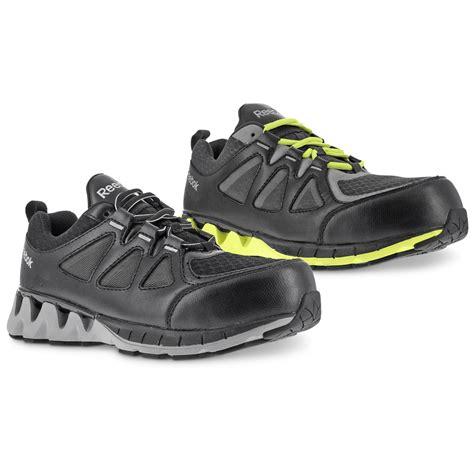 reebok zigkick s composite toe work shoes 671157