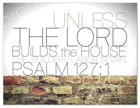 except the lord build the house items similar to instant download psalm 127 1 unless the lord builds the house