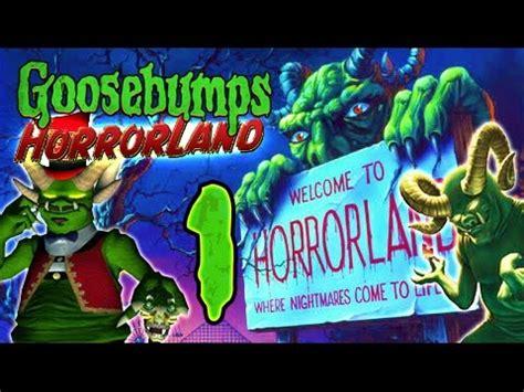 Goosebumps Remake goosebumps horrorland walkthrough part 1 ps2 wii no commentary