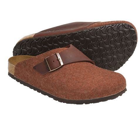 wool clogs for birkenstock basel clogs wool leather for and