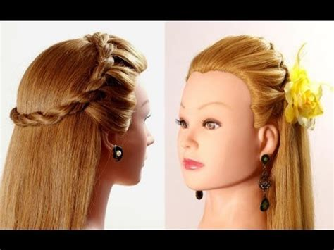 quick hairstyles for long hair youtube easy hairstyle for every day hairstyles for long hair