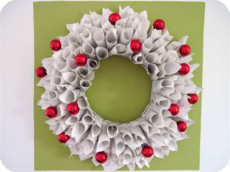 christmas wreath ideas easy crafts and homemade homemade by jill holiday cheer book wreath