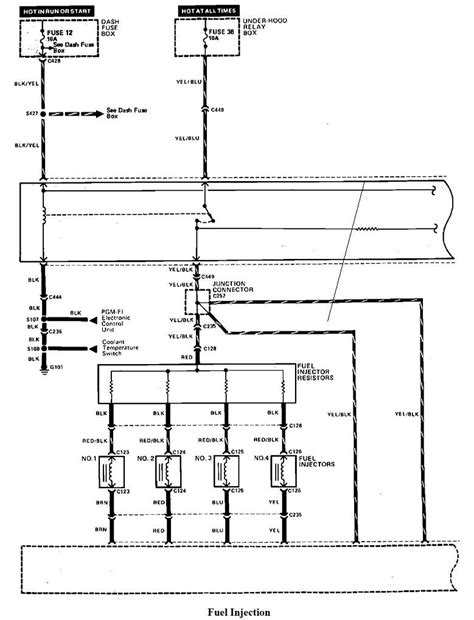 1989 honda civic fuse box diagram 1989 free engine image