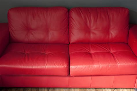 empty couch red leather couch shop all leather u0026 suede sofas