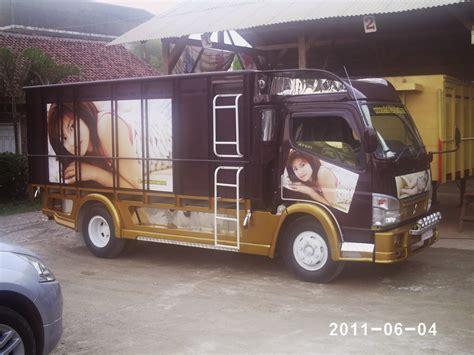 mitsubishi truck indonesia kumpulan foto modifikasi truk indonesia terbaru modif