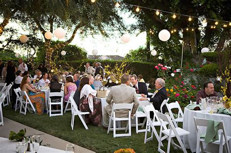 how to have a backyard wedding reception a simple lds wedding