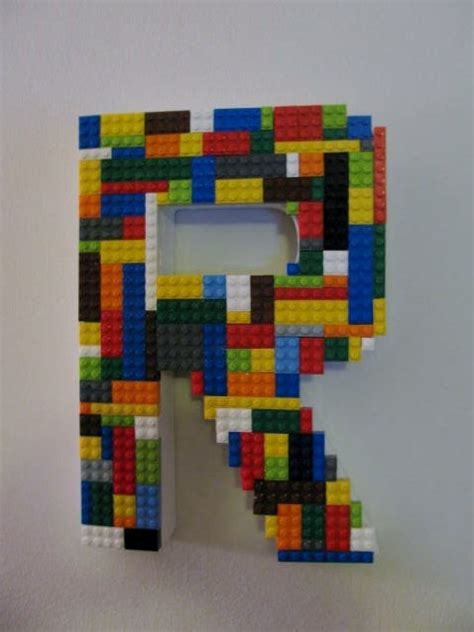 Lego Wall Decor by Lego Monogram Letter For Boy Or S Wall Decor