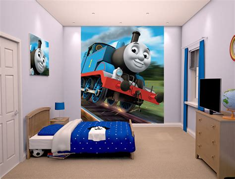 thomas bedroom thomas the tank engine bedroom wallpaper mural 8ft x 6 6 quot walltastic