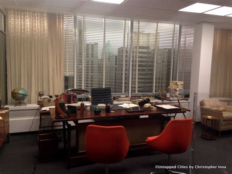 don draper office step onto set of mad men in exhibit matthew weiner s mad