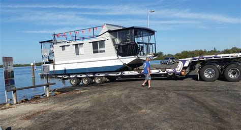 houseboats yamba area houseboat launch at hawks nest news of the area