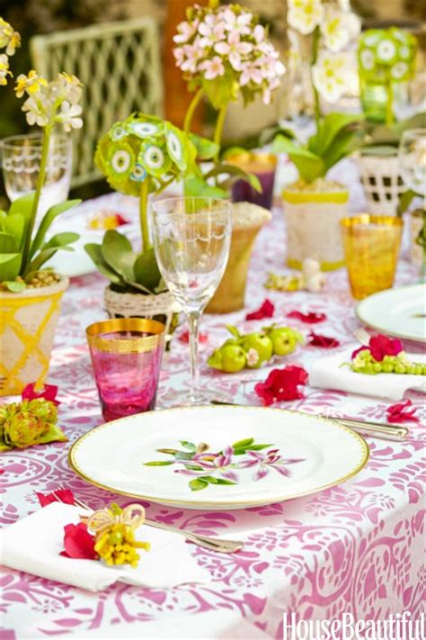 Set Mimi Lanscape Pink Gh decorating a maisonette with a small garden hooked on houses