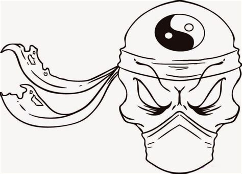 lots of skulls coloring pages