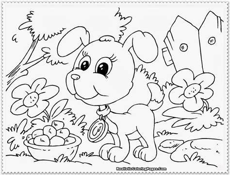 Puppy Coloring Pages Realistic Coloring Pages Puppies Coloring Pages
