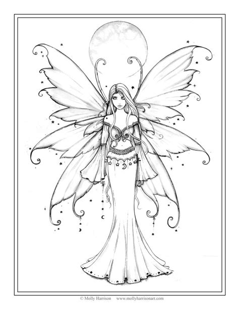 winged things a grayscale coloring book for adults featuring fairies dragons and pegasus books de 25 bedste id 233 er inden for tegninger p 229