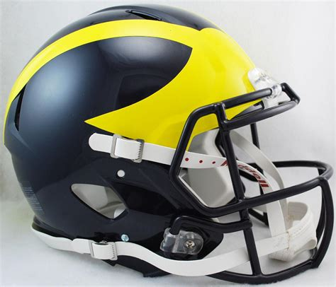 michigan helmet design history wolverines authentic helmet michigan wolverines authentic