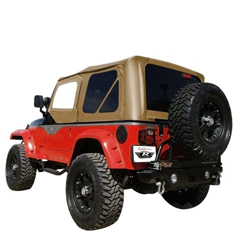 Top For Jeep Tj Rage Replacement Soft Top With Door Skins