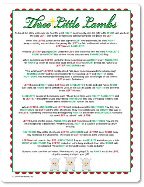 right left frosty the snowman gift exchange printable right left three lambs stuff to try