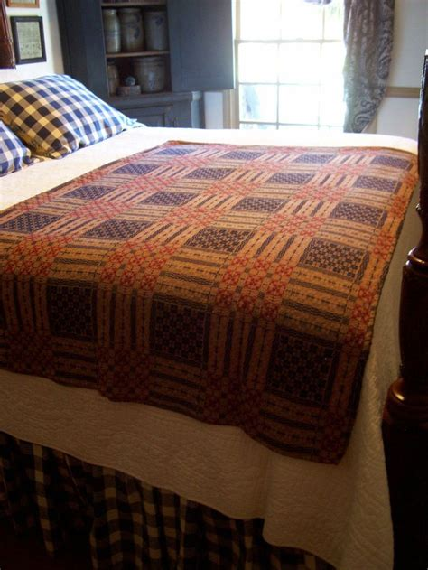 woven coverlet reproduction 289 best images about primitive and colonial bedrooms on
