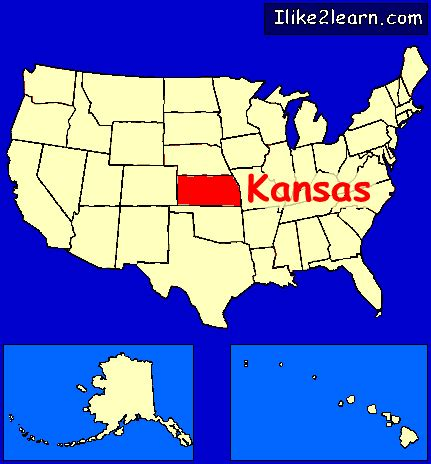 map usa kansas kansas