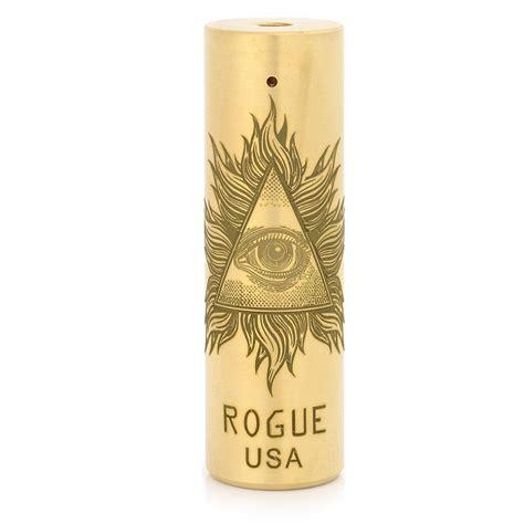Rogue Usa Mech Mod 1 rogue usa 18650 brass style mechanical mod
