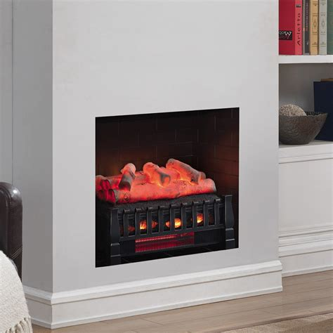 duraflame 20 inch birch electric fireplace insert log set