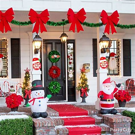 companies that decorate homes for christmas a flurry of friendly christmas decorating ideas party city