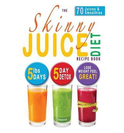 Kick Start Weight Loss Detox by Free The Juice Diet Recipe Book 5lbs 5