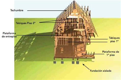 pisos en construccion sistemas estructurales viviendas de madera generalidades