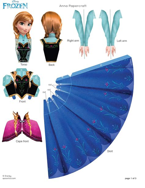 Papercraft Doll - papercraft frozen photo 35801182 fanpop page 2
