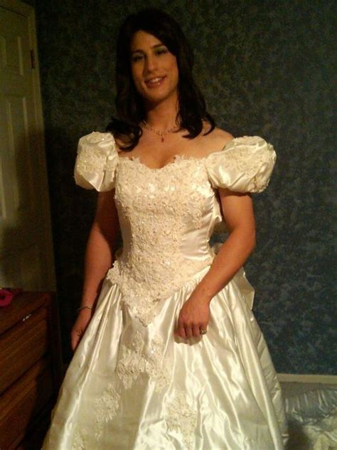 Wearing A Wedding Gown by Crossdressed For Wedding Prohibited Well Perhaps I D