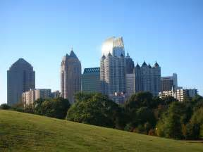 Of Atlanta Atlanta Images Atlanta Ga Skyline Hd Wallpaper And