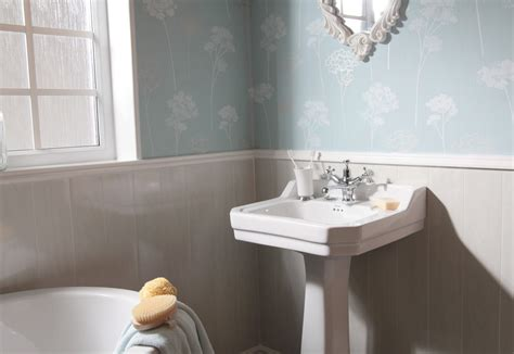 cladding for bathroom swish marbrex white wood bathroom wall cladding