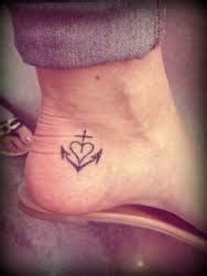 faith hope love tattoo  represent symbolism