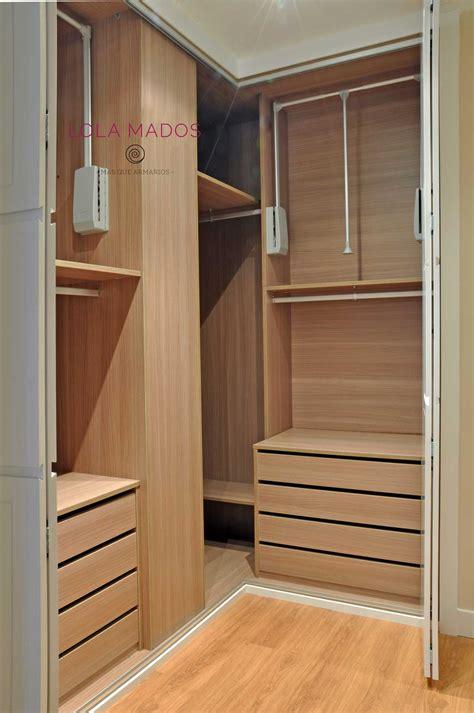 interiores de armarios roperos hacer interior de armarios empotrados a medida blancos