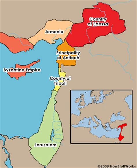crusader maps politics in the crusades crusades howstuffworks