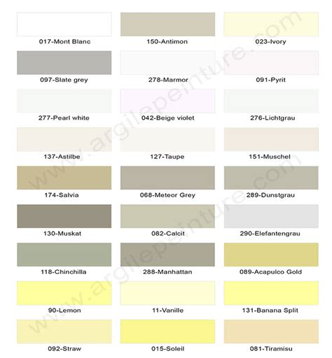 Supérieur Couleur De Peinture Pour Salle A Manger #1: couleurs-peinture-argile.jpg