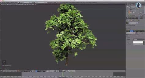 tutorial blender tree create realistic animated trees blendernation