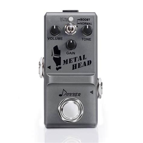 Donner Metal donner metal guitar effect pedal mini metal