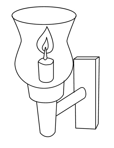 Stop Lights Coloring Pages Stop Light Coloring Page